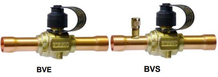 Шаровые клапаны BVE/BVS