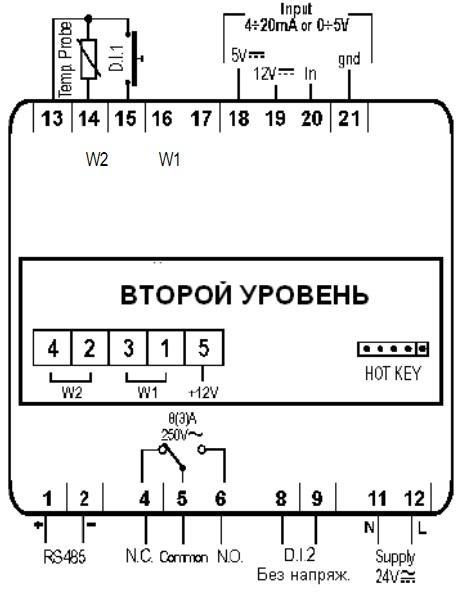 Контроллеры Dixell Инструкция
