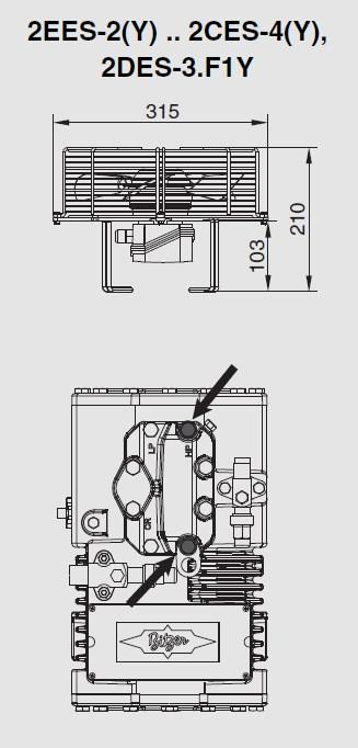 Габариты вентилятора и место крепежа