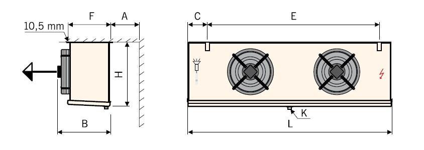 Чертеж воздухоохладителей Guentner GACC тип II (2)