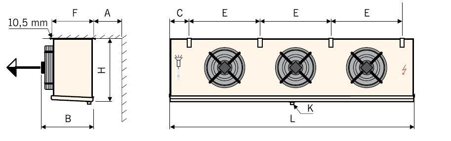 Чертеж воздухоохладителей Guentner GACC тип I (3)