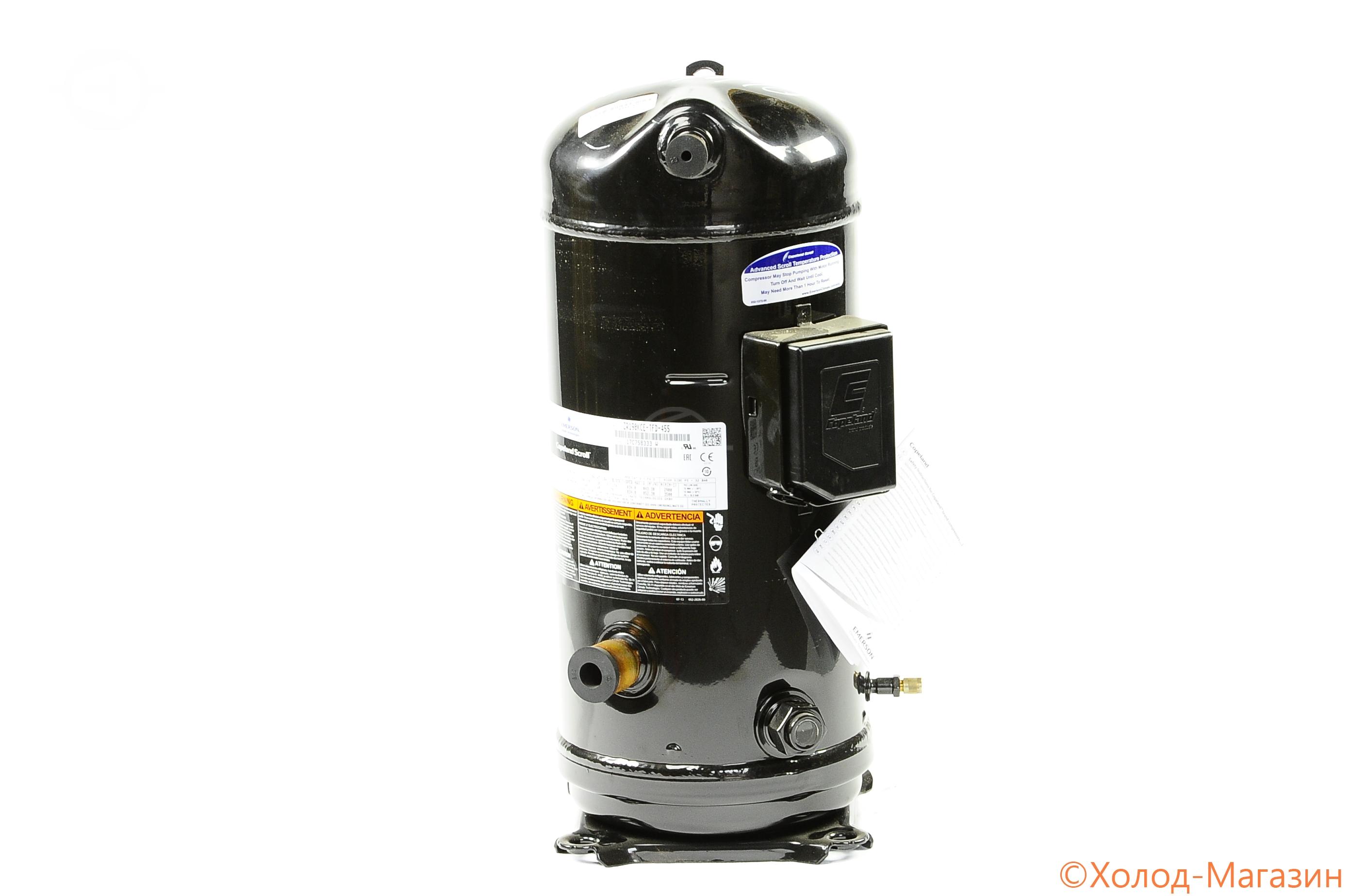 Компрессор спиральный ZR 190 KCE-TFD-455 Copeland, Emerson