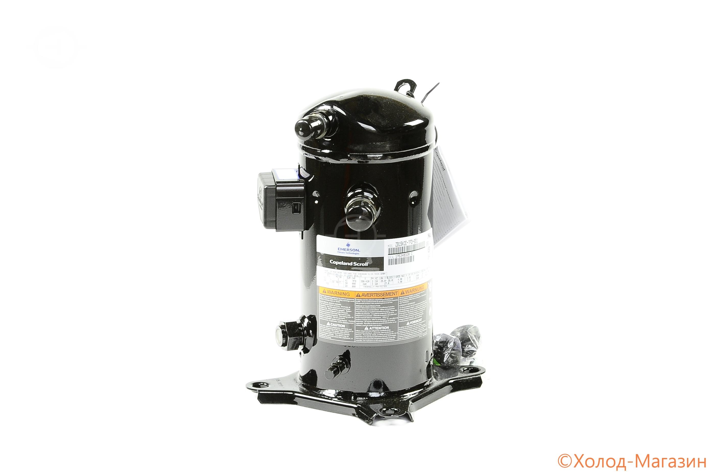 Компрессор спиральный ZB 15 KCE-TFD-551 Copeland, Emerson