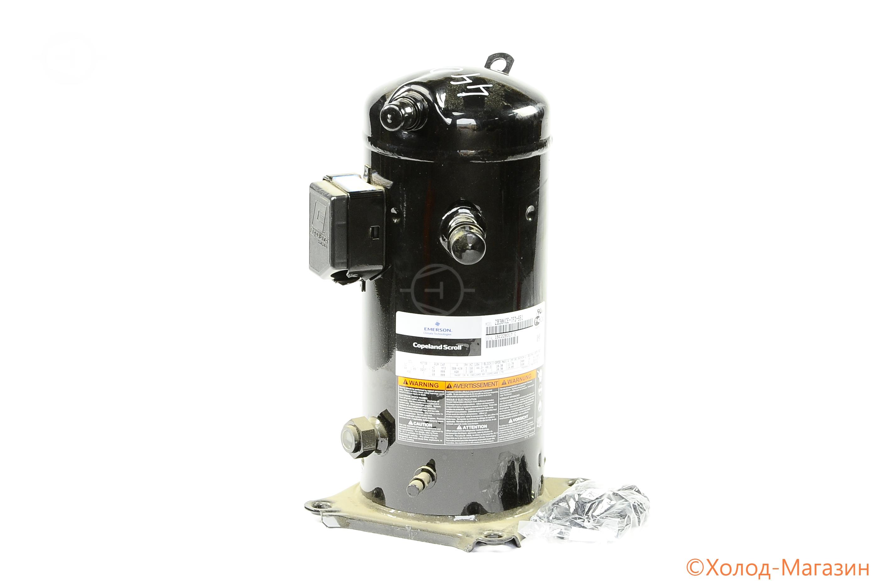 Компрессор спиральный ZB 30 KCE-TFD-551 Copeland, Emerson
