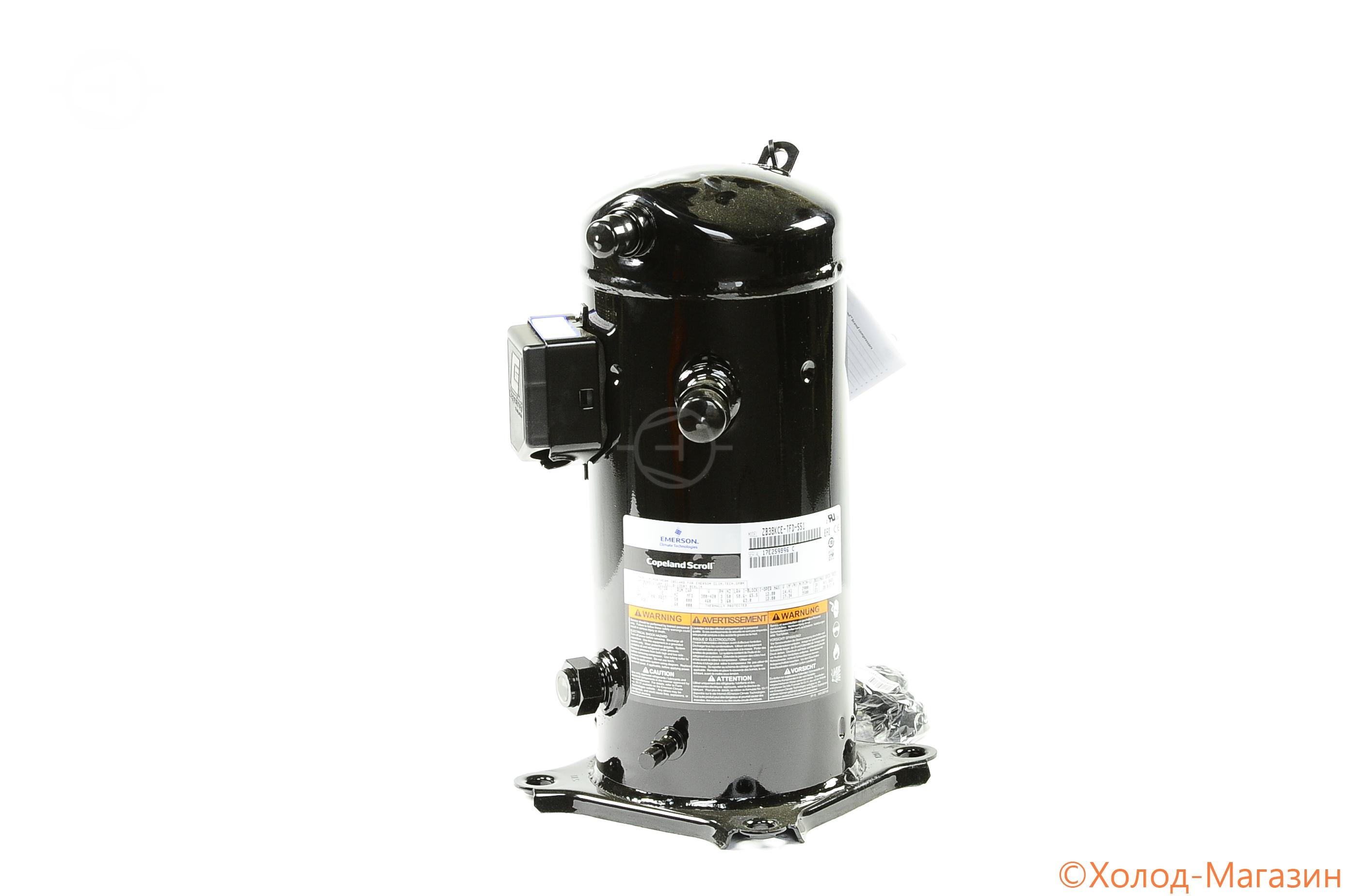 Компрессор спиральный ZB 38 KCE-TFD-551 Copeland, Emerson