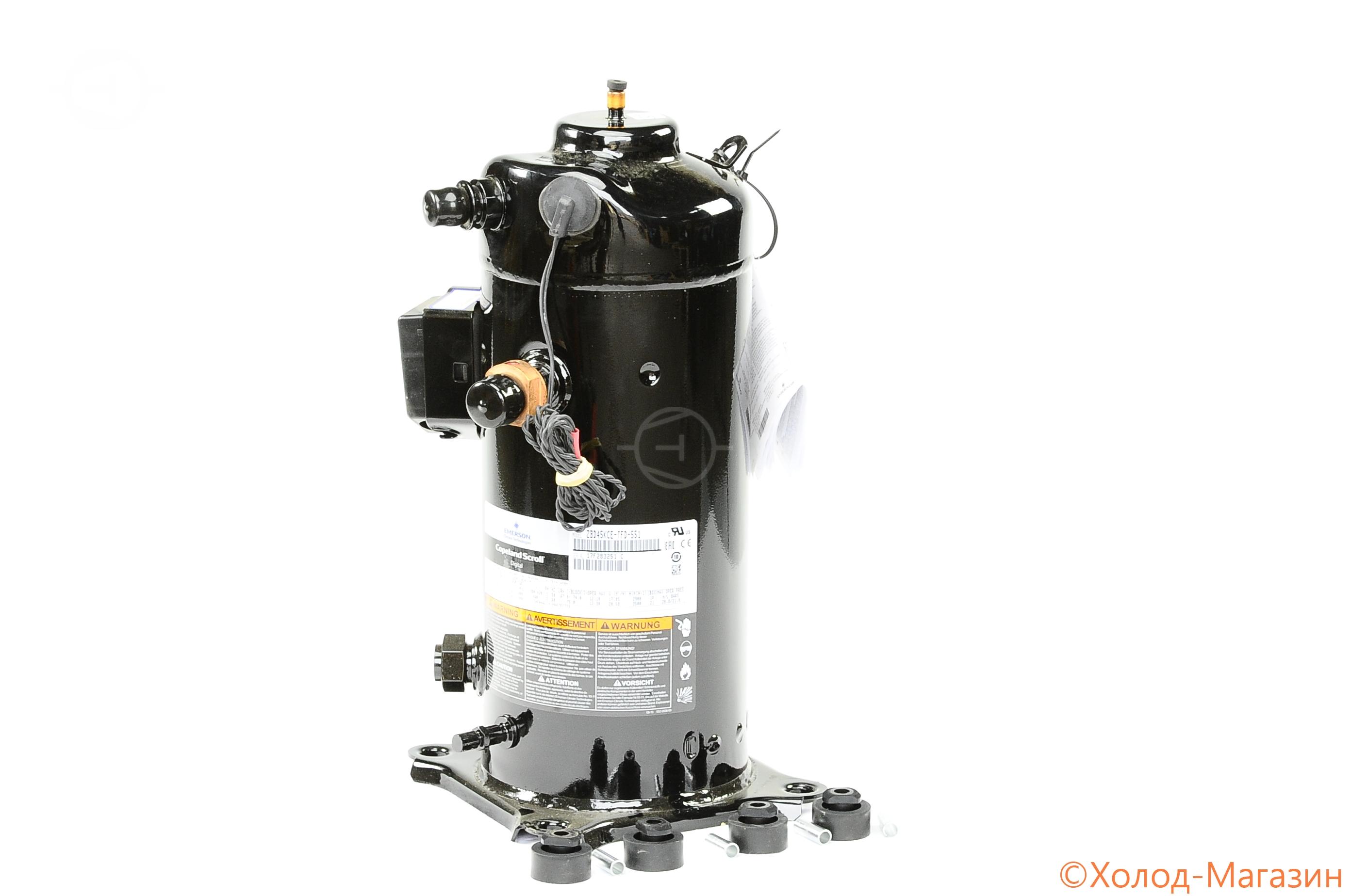 Компрессор спиральный ZBD 45 KCE-TFD-551 Copeland, Emerson