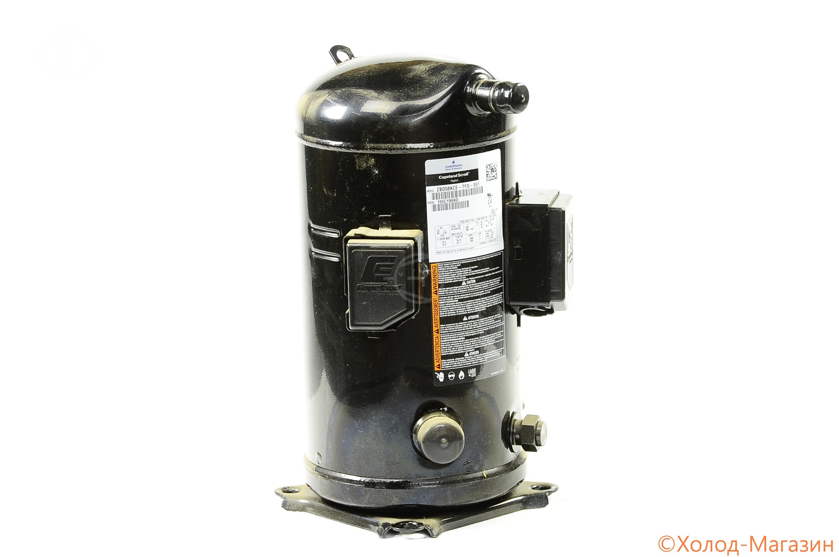 Компрессор спиральный ZBD 58 KCE-TFD-551 Copeland, Emerson