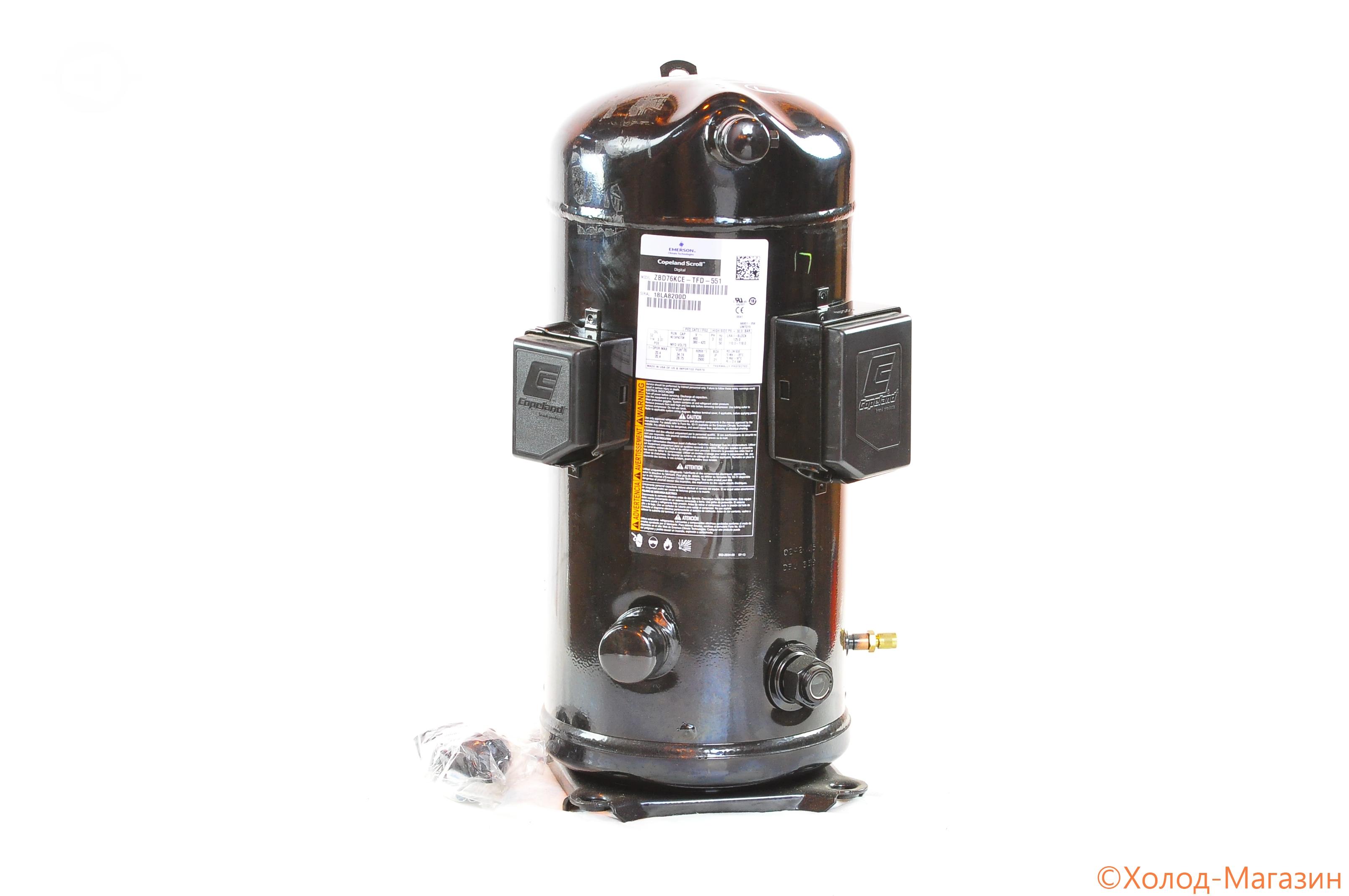 Компрессор спиральный ZBD 76 KCE-TFD-551 Copeland, Emerson