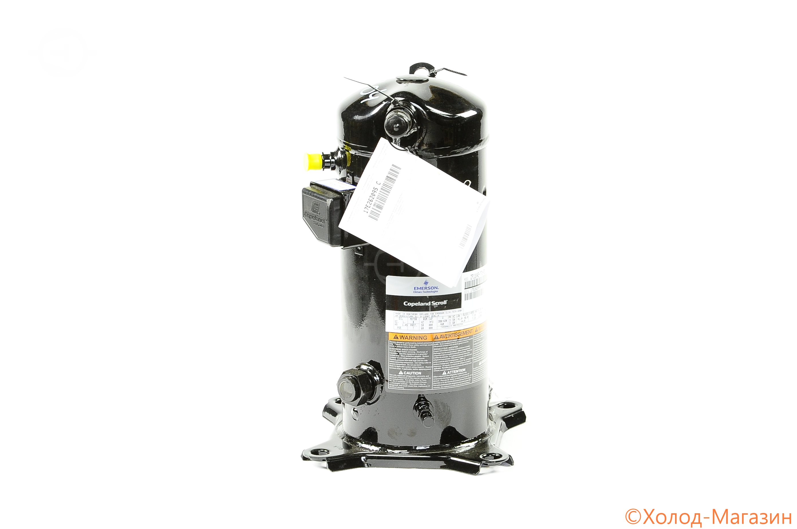 Компрессор спиральный ZF 11 K4E-TFD-556 Copeland (с вентилем DTC), Emerson
