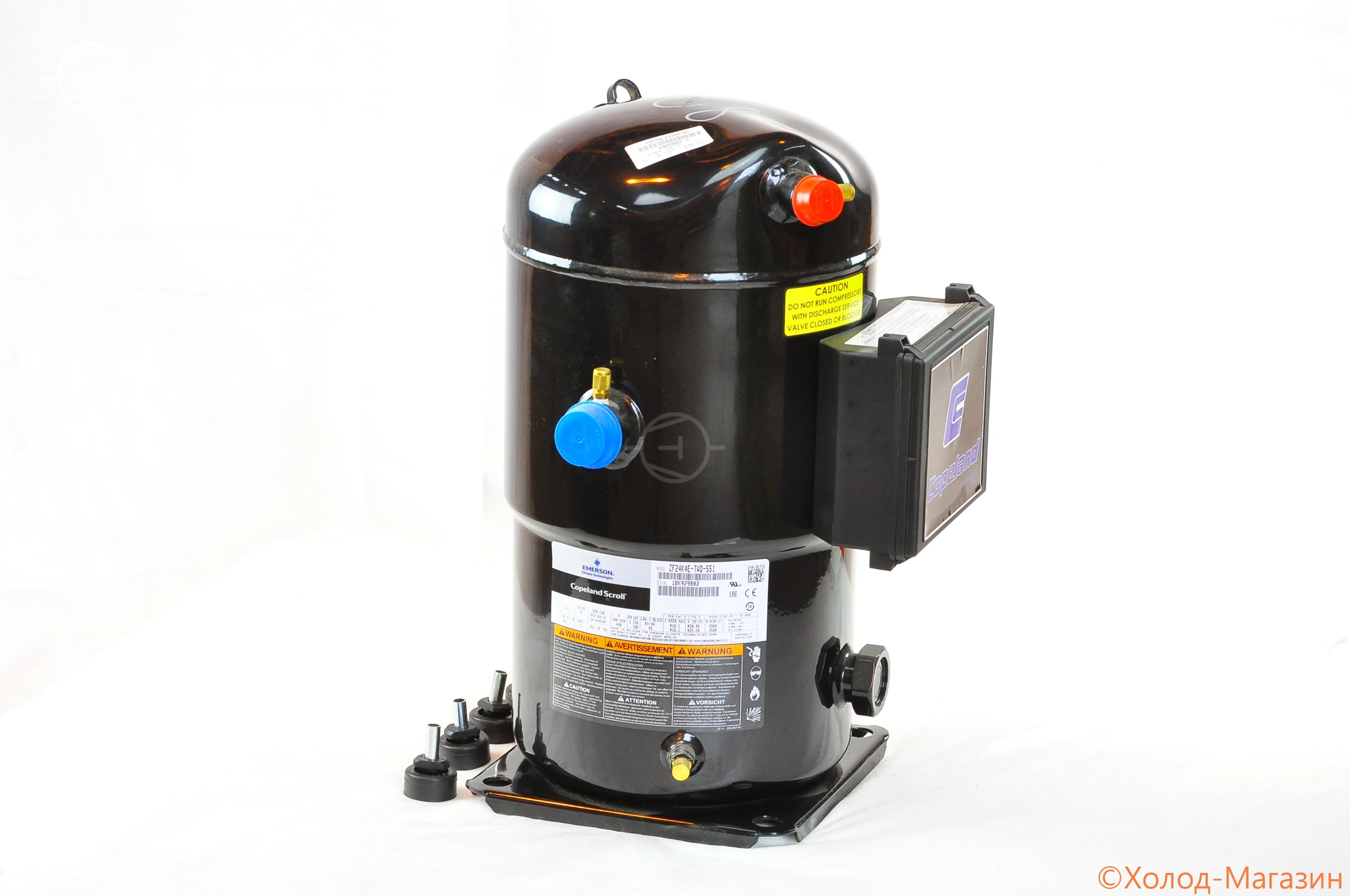 Компрессор спиральный ZF 24 K4E-TWD-551 Copeland, Emerson