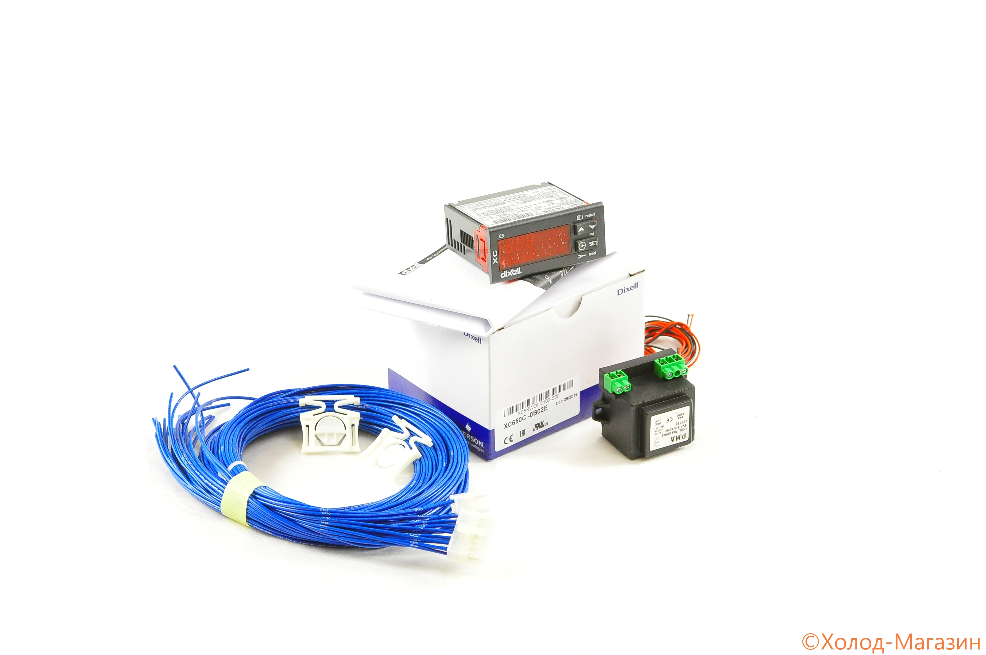Контроллер Dixell XC650C -0B02E +4.20MA 4.20MA 12V DIRE