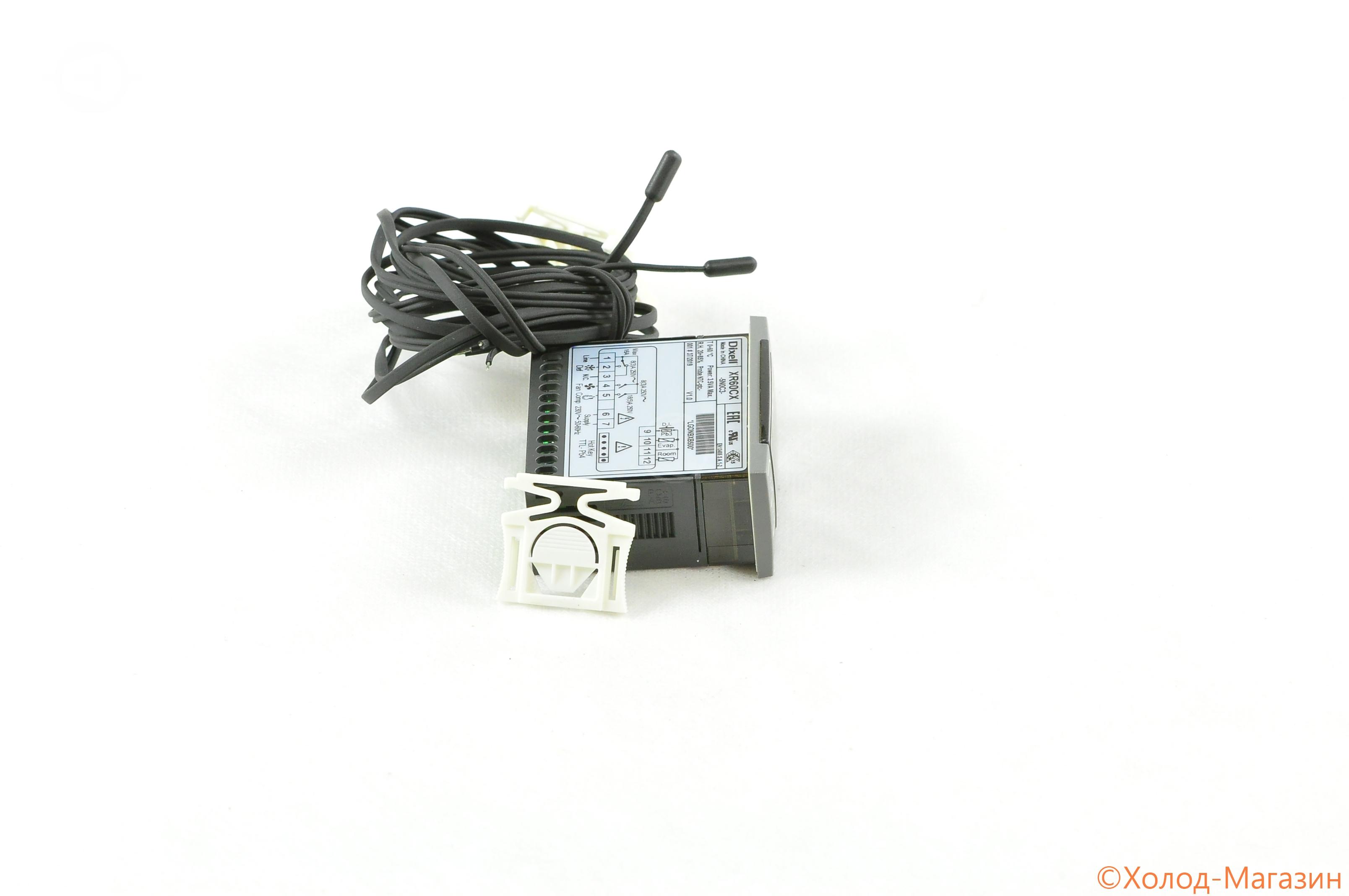 Контроллер Dixell XR60CX -5N0C3 NTC 2R=8+16A +2NG6/1.5 STE