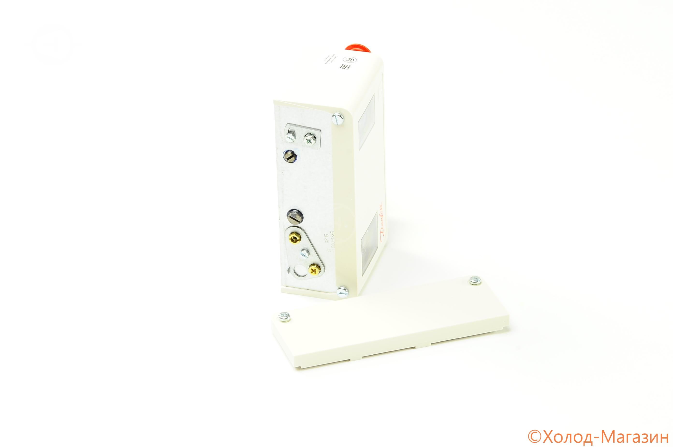 Реле давления (прессостат) KP15 (сброс авт. HP/LP) сигнал LP, IP44, Danfoss