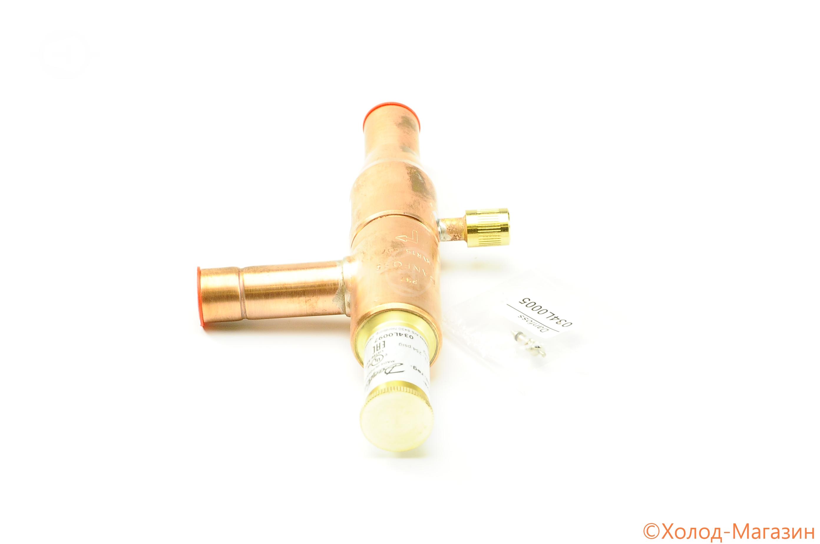 """Регулятор давления конденсации KVR 15 D16 (5/8""""), Danfoss"""