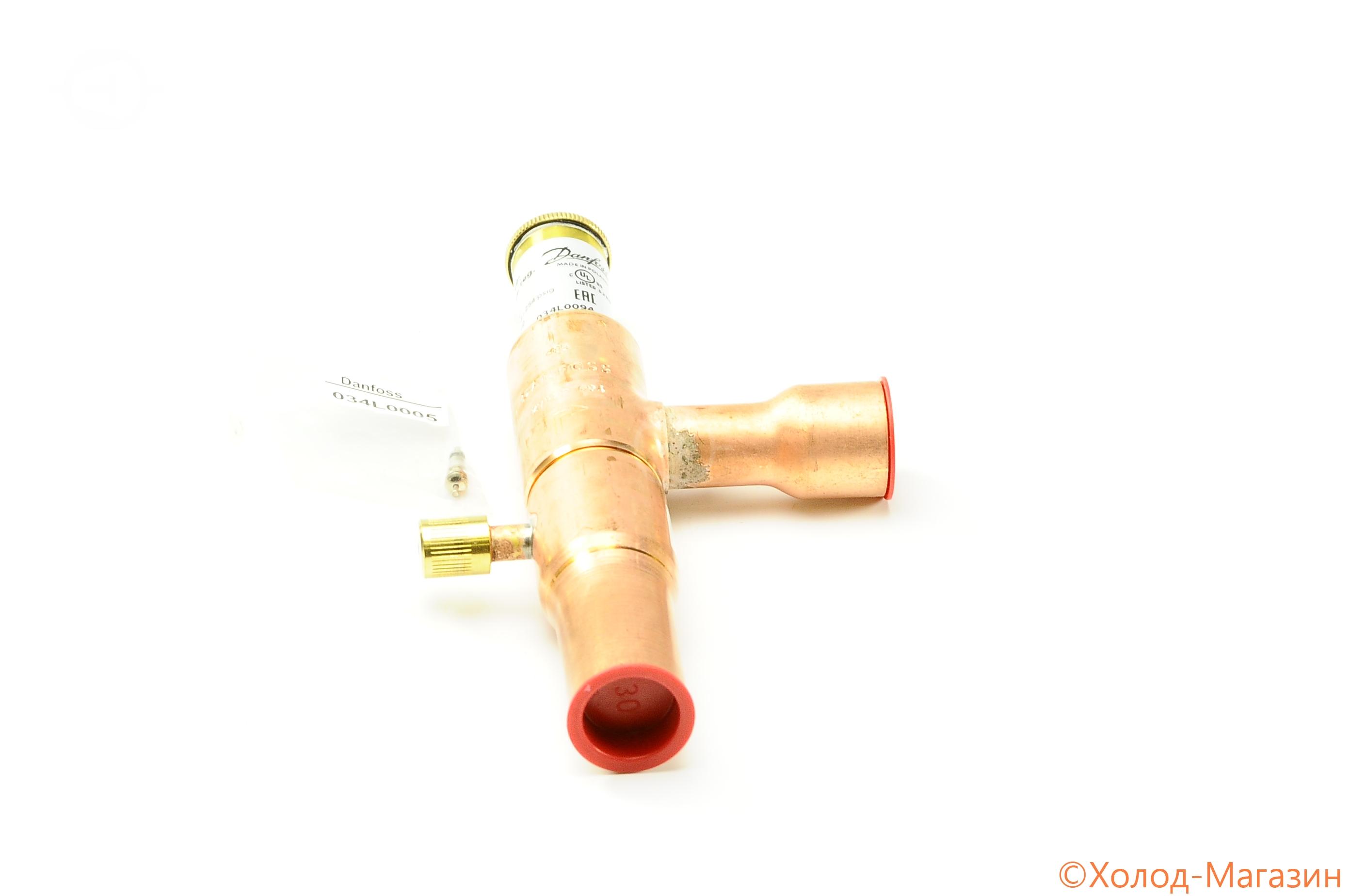 """Регулятор давления конденсации KVR 22 D22 (7/8""""), Danfoss"""