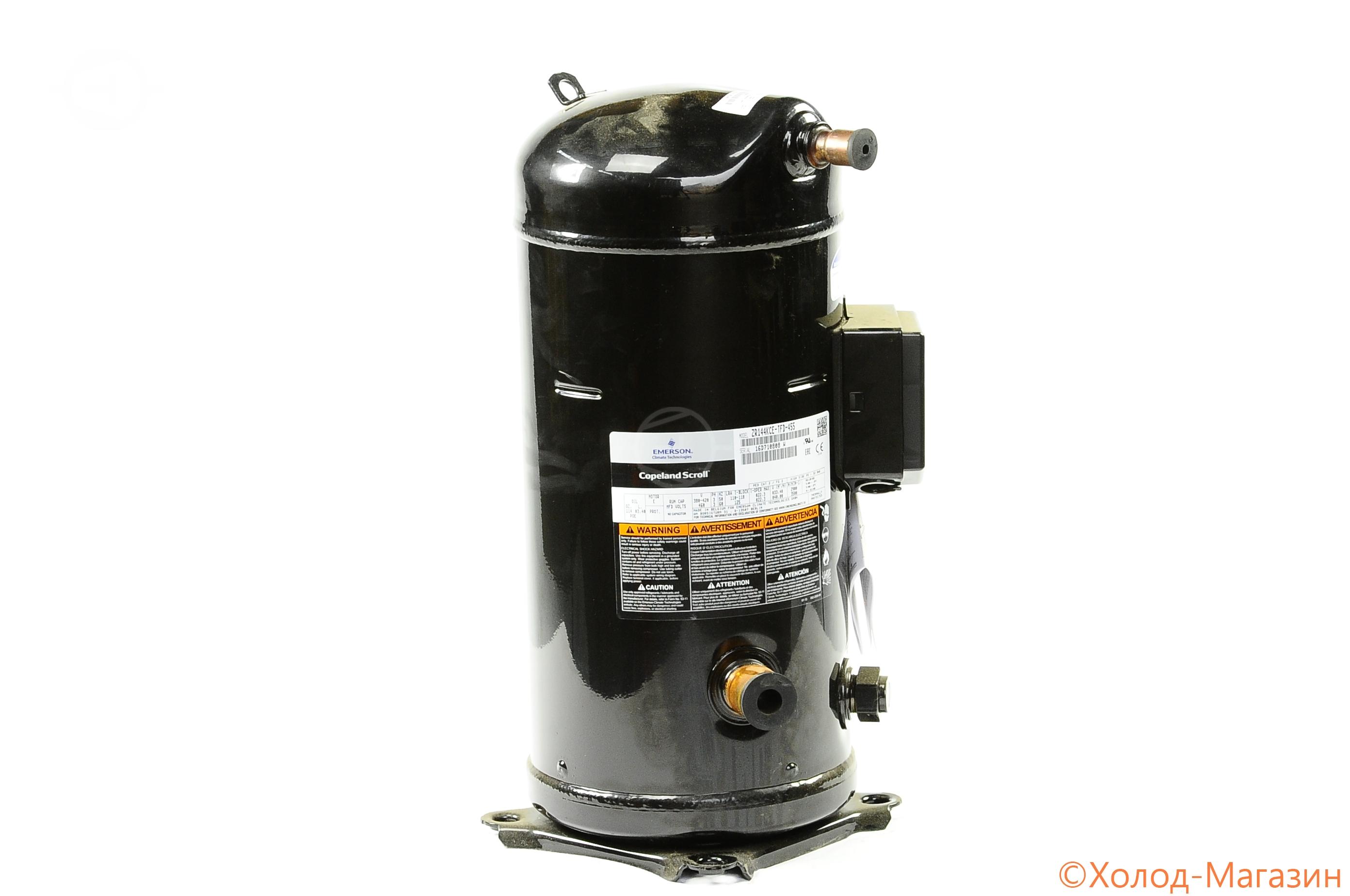 Компрессор спиральный ZR 144 KCE-TFD-455 Copeland, Emerson
